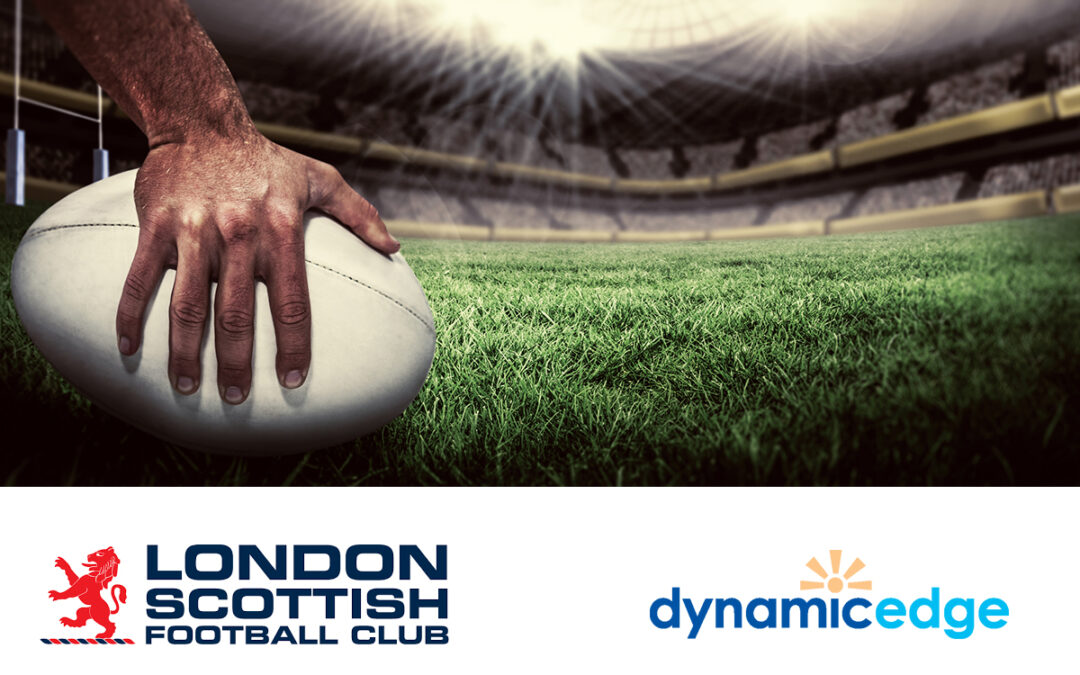 Dynamic Edge teams up with London Scottish Football Club