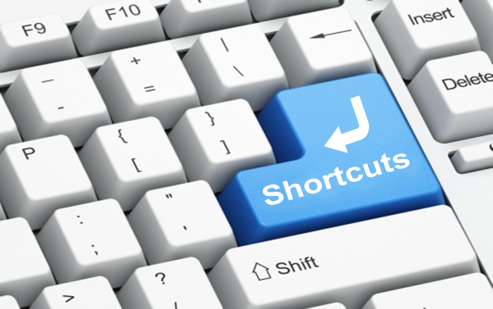 Keyboard shortcuts to help the Windows user work smarter