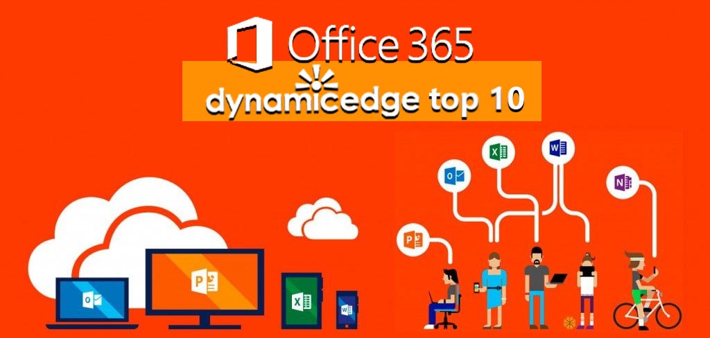 Our top 10 apps available on Office 365